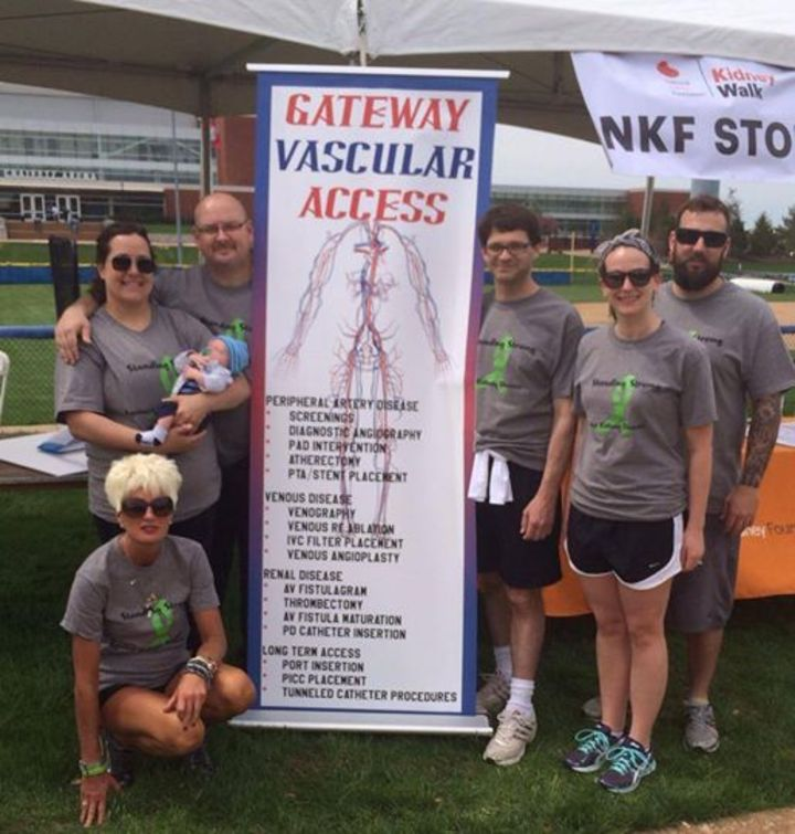 Kidney Walk   Team Gateway Vascular T-Shirt Photo