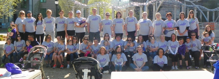 March For Babies 2014   Team Brooks T-Shirt Photo