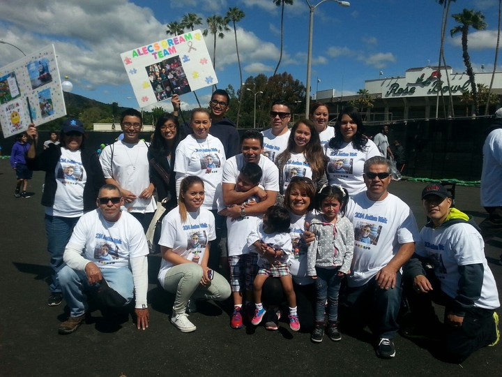 2014 Autism Walk T-Shirt Photo