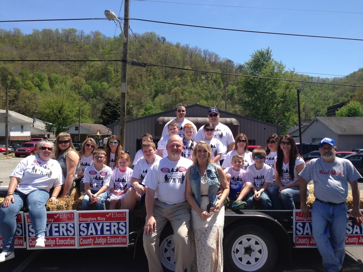 Team Sayers Parade Float T-Shirt Photo