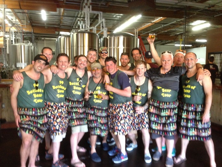99 Bottles Of Beer Tour 2014 T-Shirt Photo