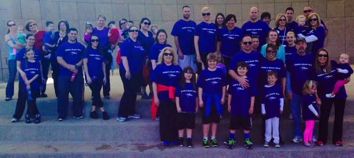Colies Crew Ms Walk 2014 T-Shirt Photo