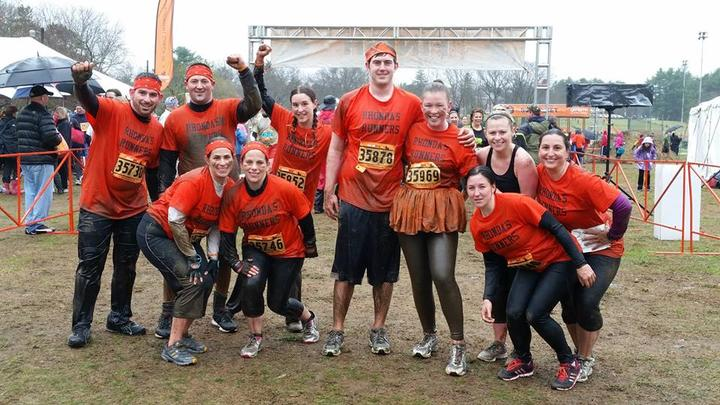 Muckfest Ms Boston: Rhonda's Runners T-Shirt Photo