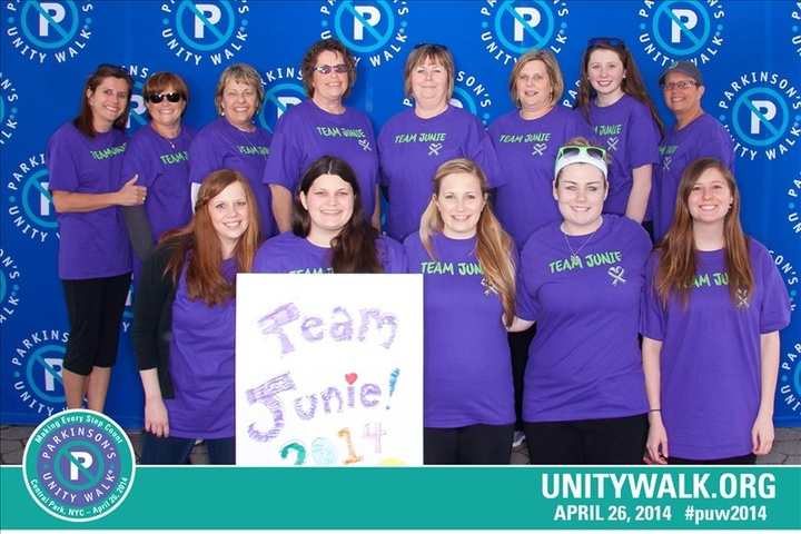 Team Junie Representing At The Puw2014 T-Shirt Photo