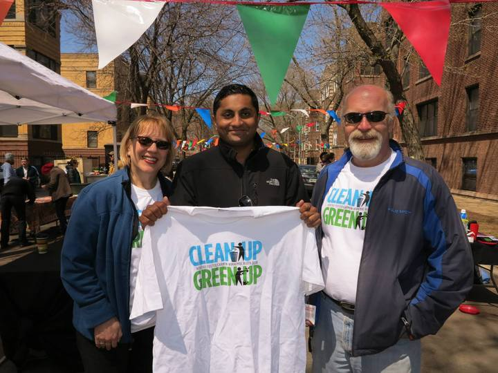Clean Up Green Up T-Shirt Photo