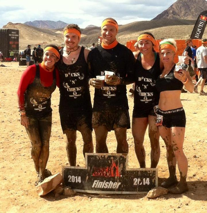 Dicks 'n' Chicks Tough Mudder T-Shirt Photo