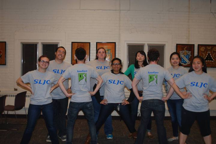 Student Leadership Journey Council Gets Serious T-Shirt Photo