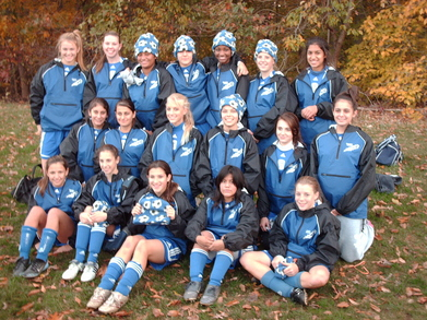 New Jackets For The U16 Girls Soccer Team T-Shirt Photo