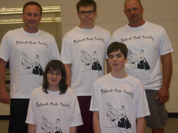 Members Of Shugo Tenshi Ryu Aikijutsu T-Shirt Photo