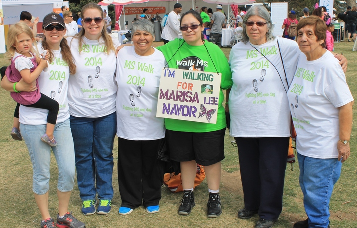 Ms Walk 2014 T-Shirt Photo