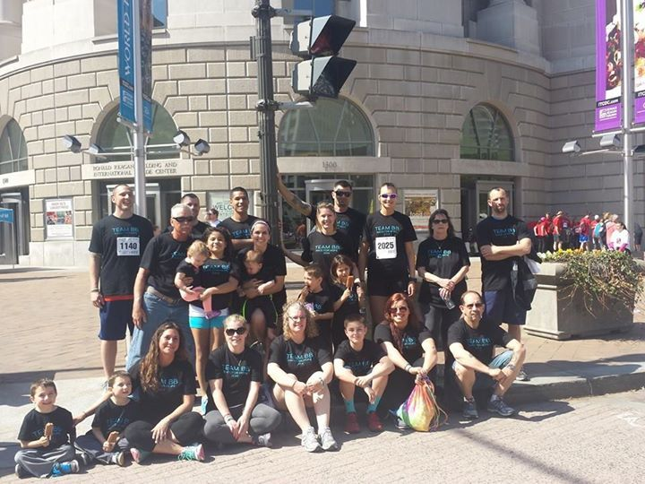 Team Bb   Race For Hope 2014 T-Shirt Photo