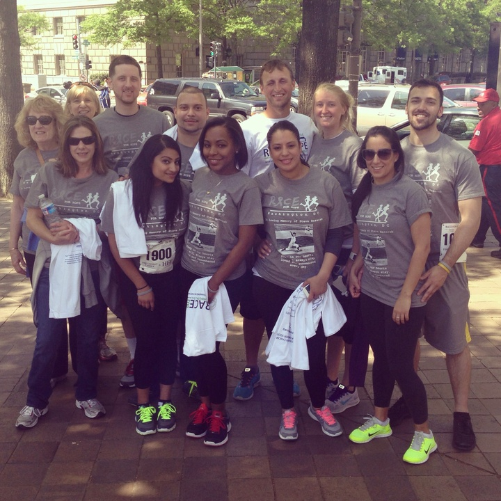 Team Blade Runners At The Race For Hope In Dc T-Shirt Photo