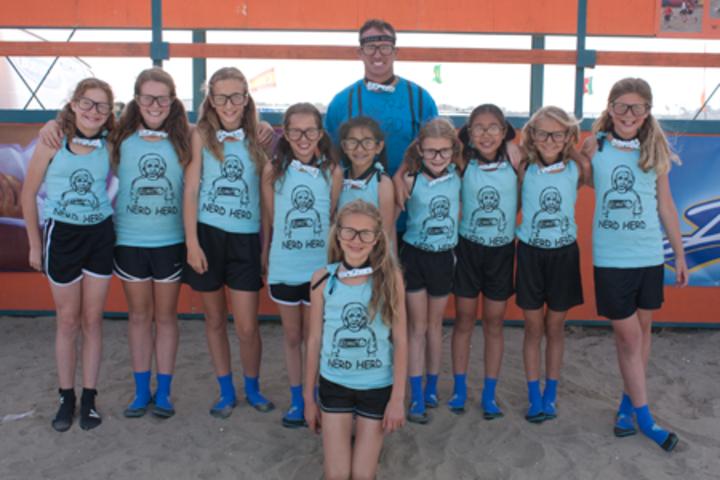 Winning Team Photo Nerd Herd T-Shirt Photo