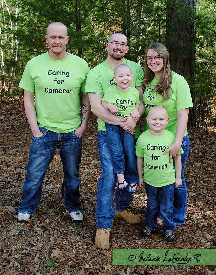 Caring For Cameron T-Shirt Photo