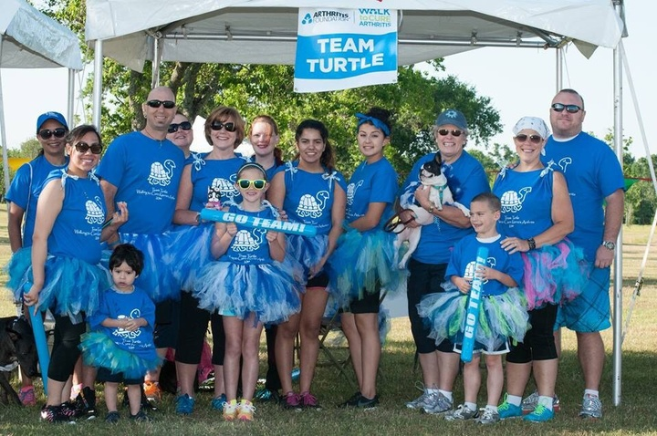 2014 Houston Arthritis Walk T-Shirt Photo
