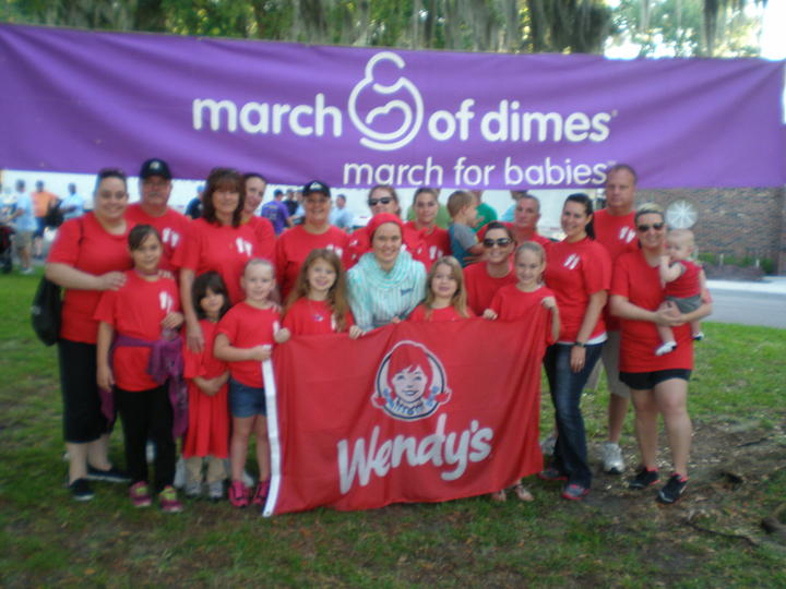 March For Babies 2014 T-Shirt Photo