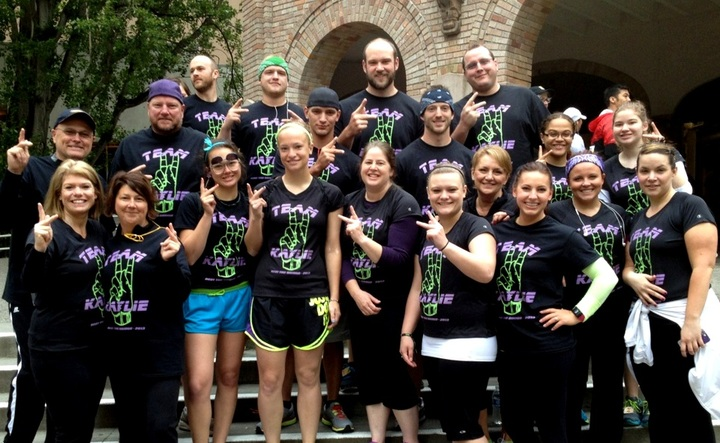 Running For Juvenile Diabetes!! T-Shirt Photo