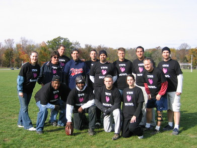Tns Ops Wins Turkey Bowl! T-Shirt Photo