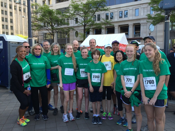 2014 Dc Race For Hope: Team Jenny Kd T-Shirt Photo