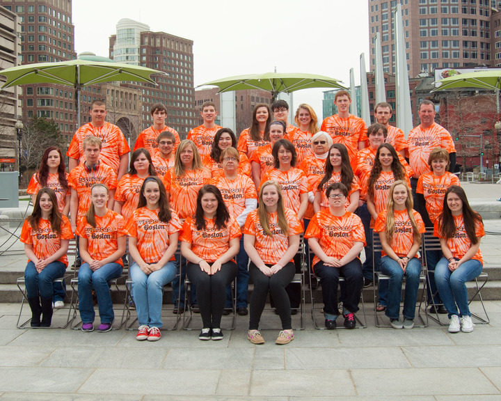 Bulldogs To Boston 2014 T-Shirt Photo