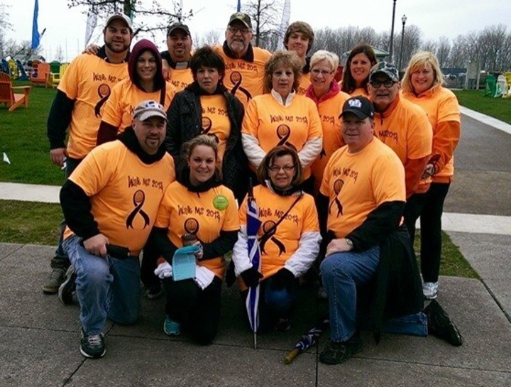 "Walk Ms 2014  Team ""Walking For Us"" T-Shirt Photo"