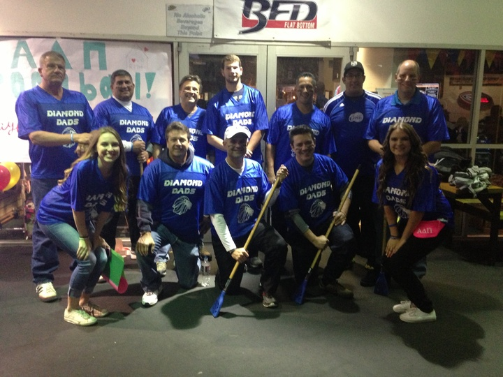Diamond Dads Broomball Team T-Shirt Photo
