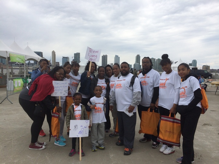 Walking For A Multiple Sclerosis Cure  T-Shirt Photo