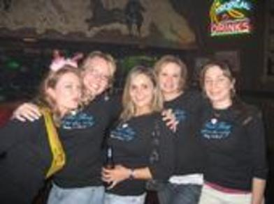 Chelseys Last Fling Bachelorette Party T-Shirt Photo