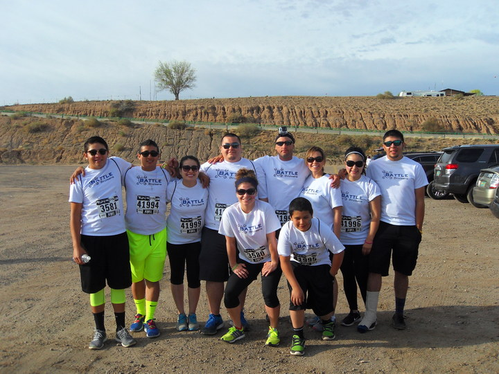 Battle Bruisers Run Or Dye! T-Shirt Photo