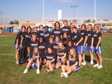 Hightstown Girls Varsity Soccer 2007 T-Shirt Photo