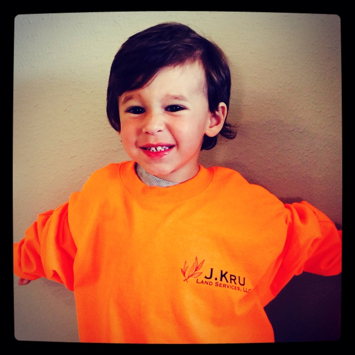 Abel Wearing Our First Company T Shirt! So Proud!! T-Shirt Photo