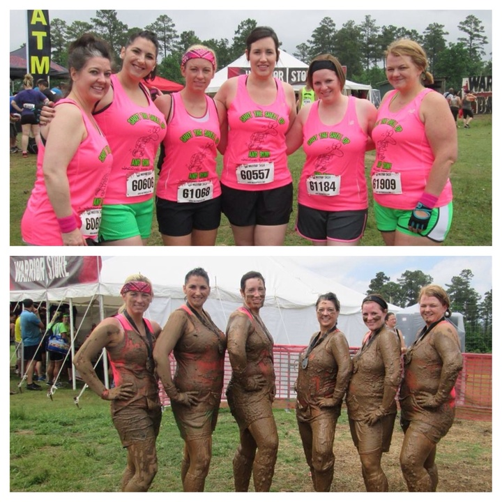 Dz Alums Take In Warrior Dash Ar T-Shirt Photo