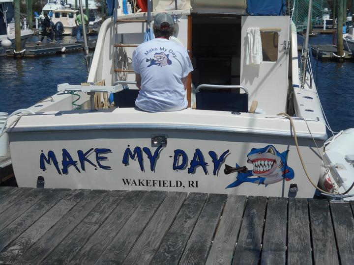 On The Ocean T-Shirt Photo