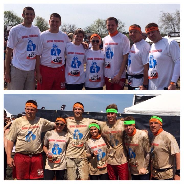 Tough Mudder Chicago 2014  Team Tuff Muffers T-Shirt Photo