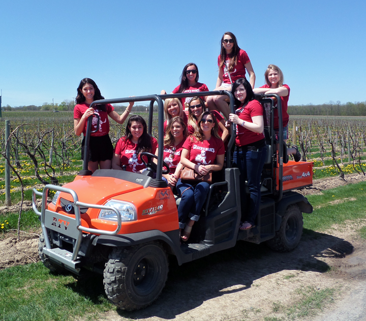 Bachelorette Wine Tour T-Shirt Photo
