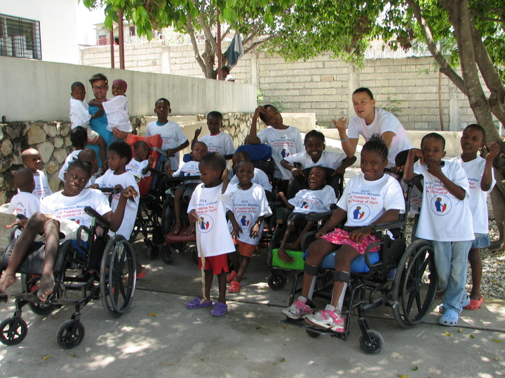 Hope Home Haiti Children Rally For Sf Marathon!!   T-Shirt Photo
