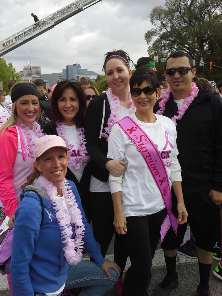 The Rack Pack Race For The Cure T-Shirt Photo