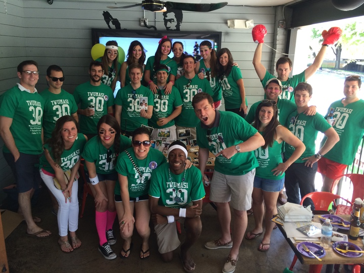 Bo's Surprise Birthday Pub Crawl T-Shirt Photo