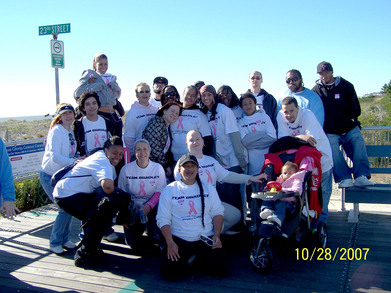 Team Bradley Making Strides Against Breast Cancer 2007 T-Shirt Photo