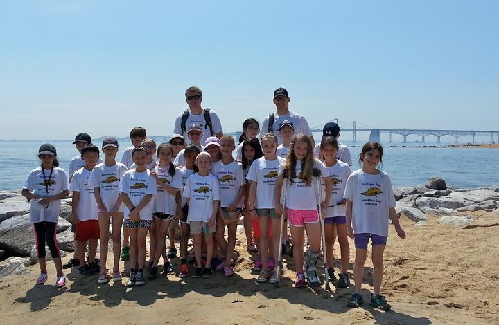 Horseshoe Crab Field Day T-Shirt Photo