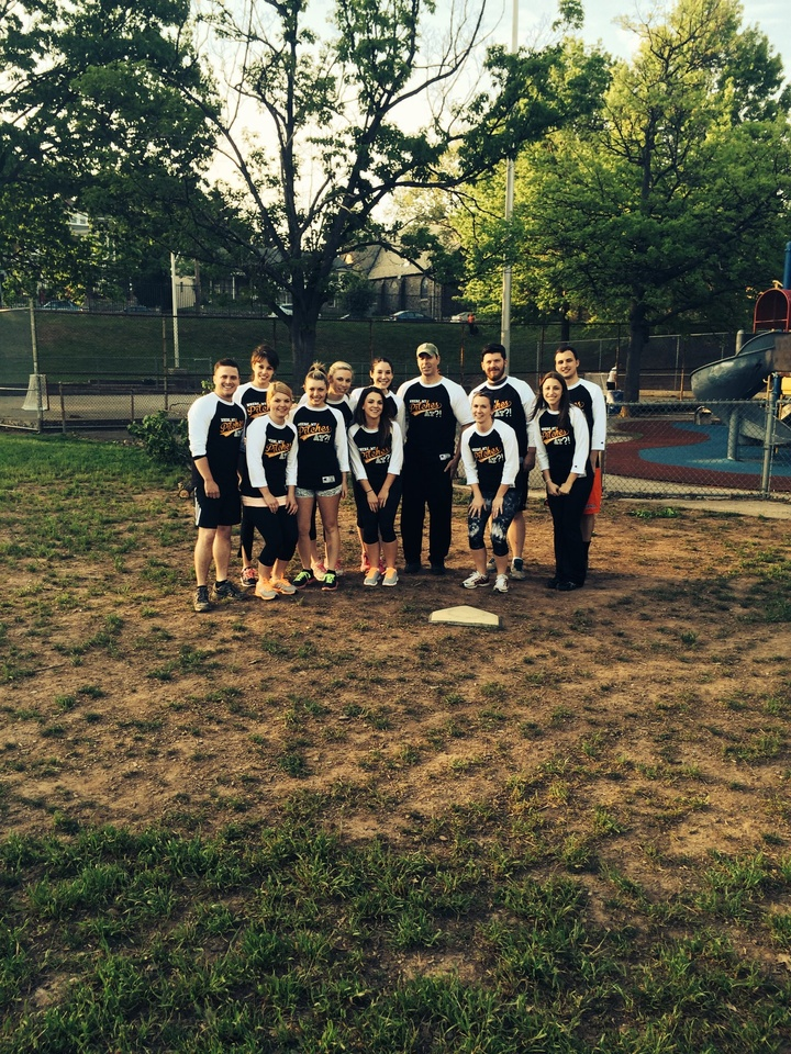 Manayunk Kickball T-Shirt Photo