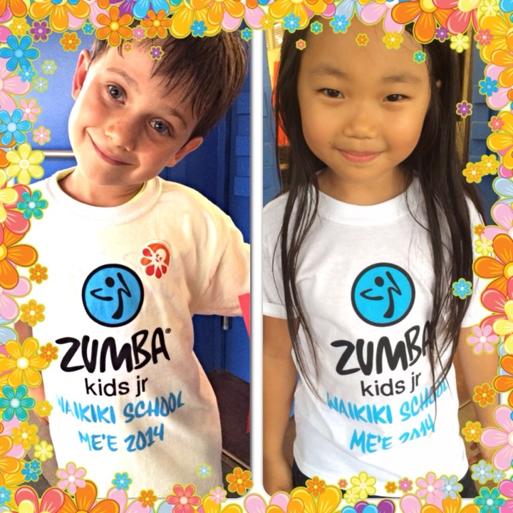Zumba Kids Waikiki Elem T-Shirt Photo
