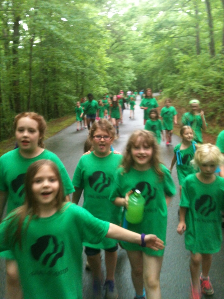 Girl Scout Camp T-Shirt Photo