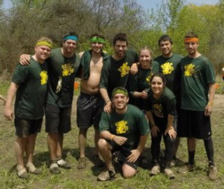 Green Monkey's Tough Mudder Run T-Shirt Photo