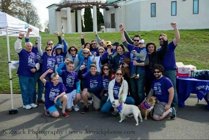 March Of Dimes Walk   Team Nizzardo Twins T-Shirt Photo