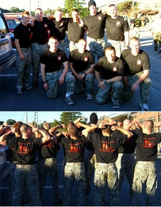 Bu Army Rotc Ranger Challenge Team 2007 T-Shirt Photo