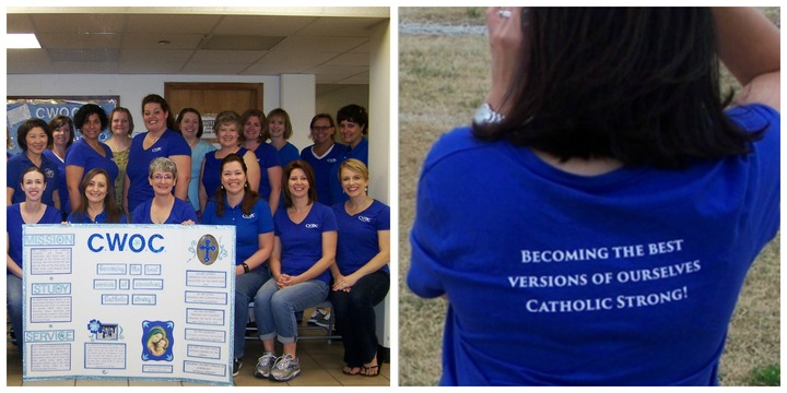 Cwoc Sporting Our New Tees By Custom Ink! T-Shirt Photo