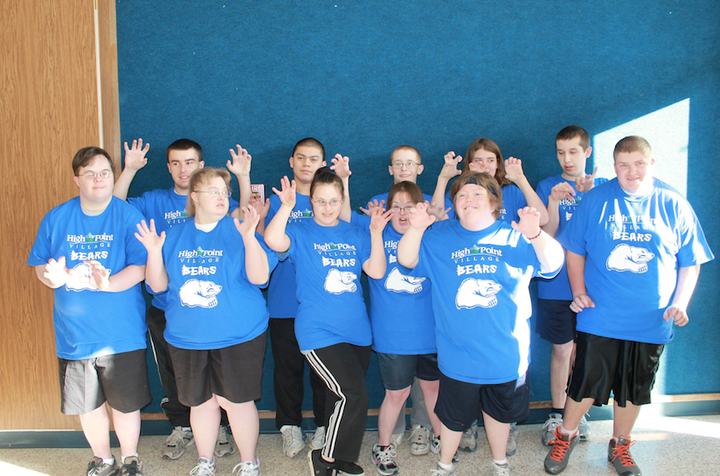 High Point Village Bears  Special Olympics Basketball T-Shirt Photo