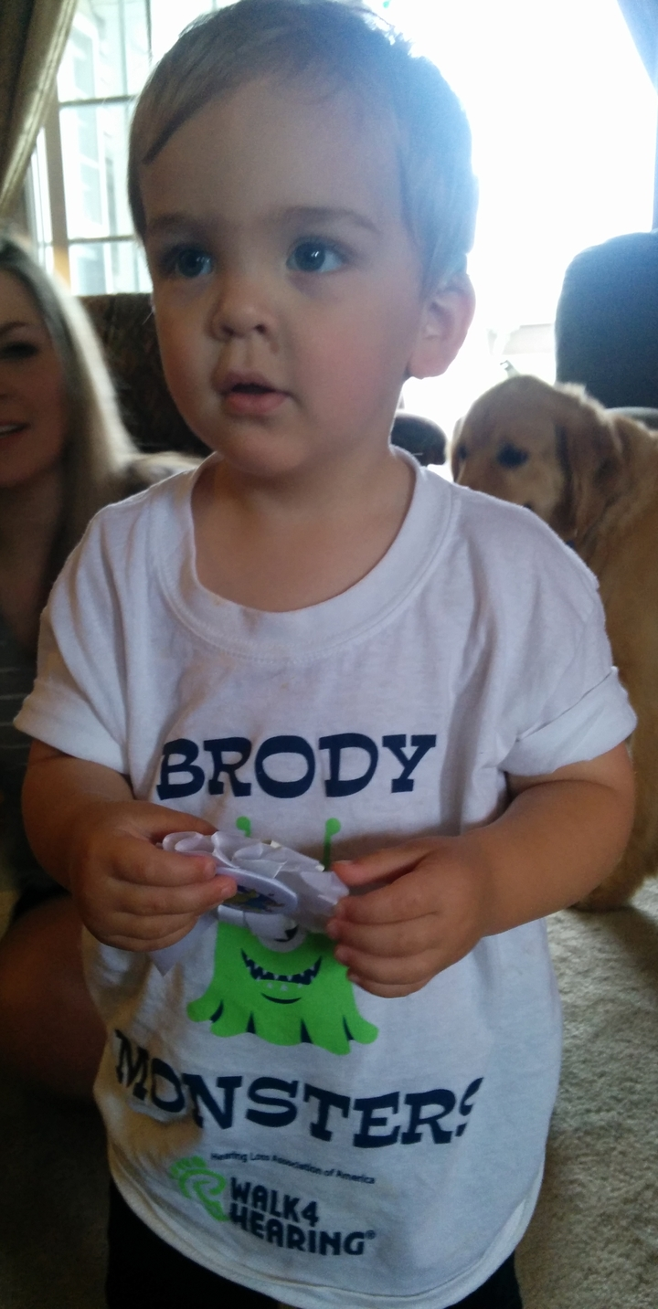 """The"" Brody Monster With 3rd Place Ribbon T-Shirt Photo"
