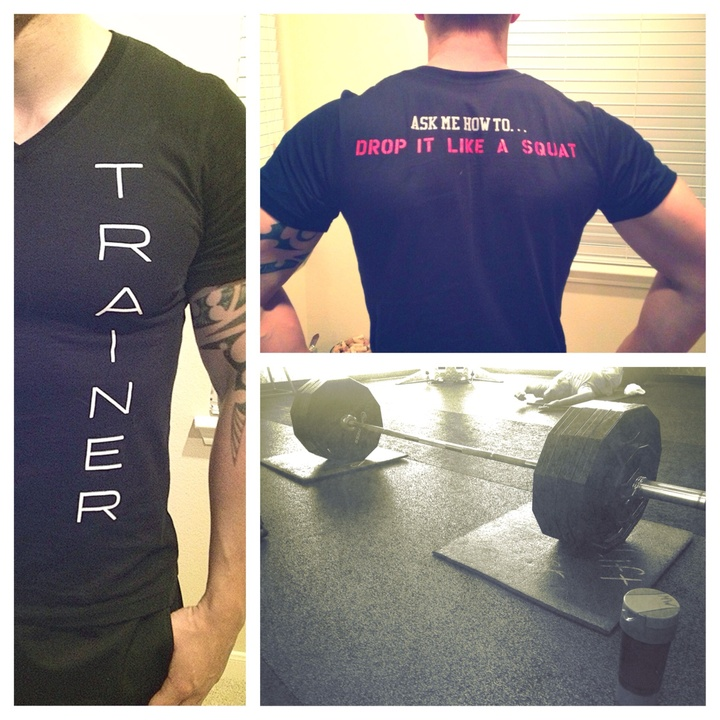 Train Hard T-Shirt Photo